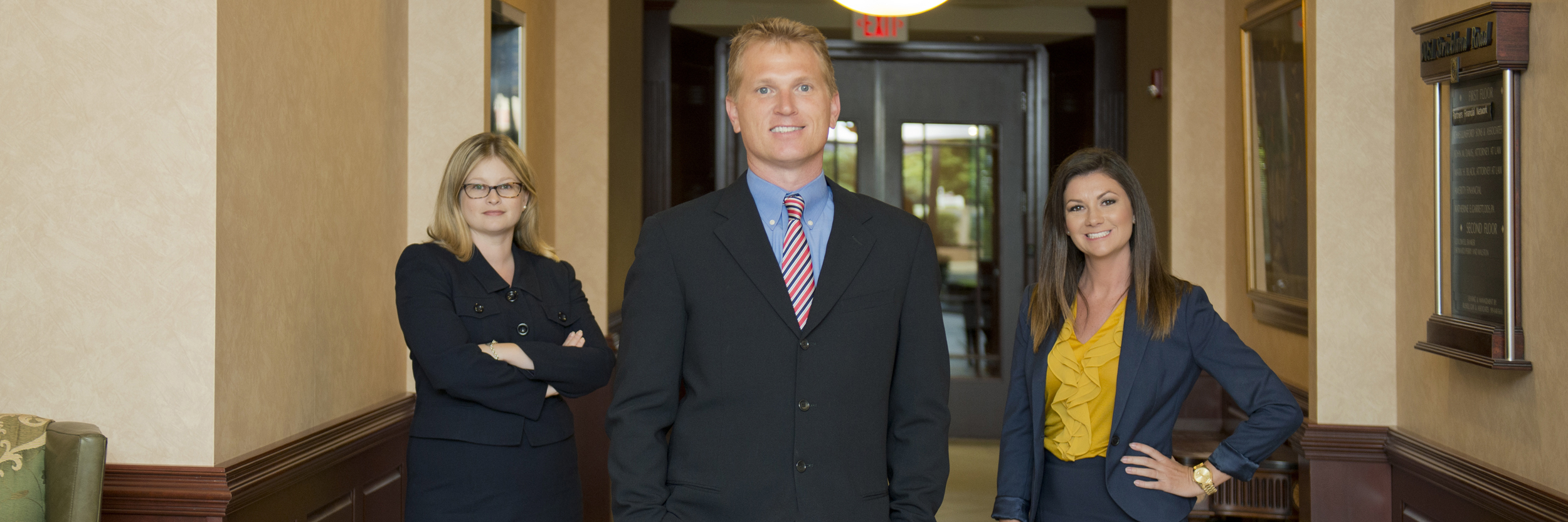 Friendly team at Doyle Law Group Raleigh