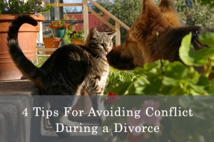 avoid conflict during a divorce